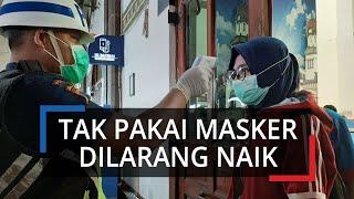 Tak Pakai Masker Penumpang Dilarang Naik Kereta Api Serta Tiket Dikembalikan Penuh