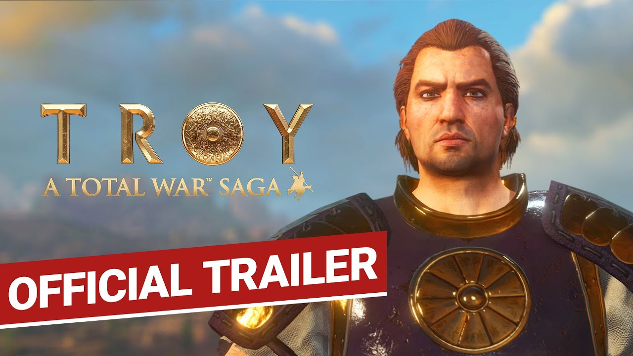Кинематографический трейлер игры Total War Saga: Troy