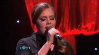 Adele   Someone Like You [Live On Ellen]