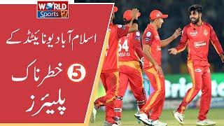 6 Most dangerous batsman   Islamabad United   PSL 2020   Top 5 Batsman