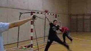 Porteros de balonmano - Extremos con gomas