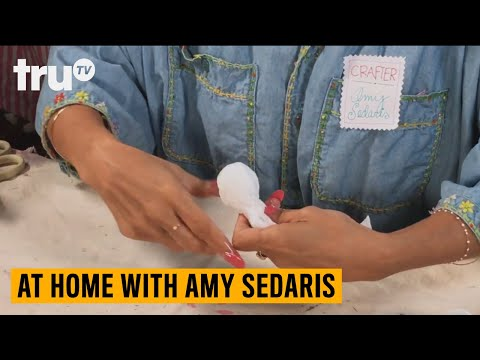 At Home with Amy Sedaris Craft Tutorial: Tissue Ghost | truTV