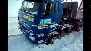 ТараСпецТранс зимник 2013 ямал