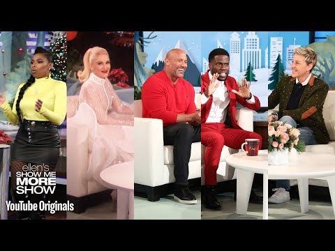 Jennifer Hudson, Dwayne Johnson and Kevin Hart, and Gwen Stefani on Blake (видео)