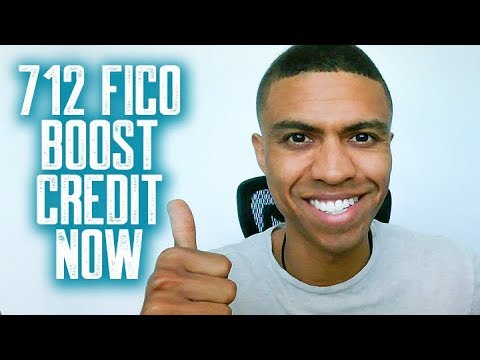712 FICO BOOST CREDIT NOW || FEDLOAN REMOVED || 609 WORKS || 623 WORKS || GOODWILL WORKS