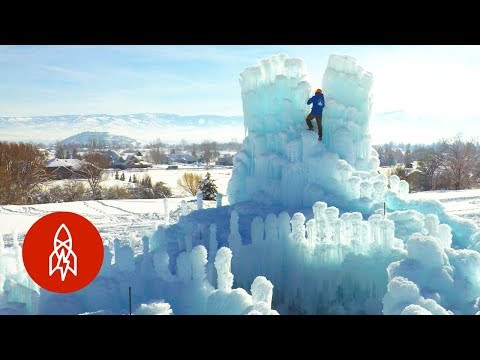Building a Temporary Ice Castle