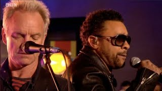 Gambar cover Sting & Shaggy - Don't Make Me Wait Live on The One Show. BBC. 29 Mar 2018
