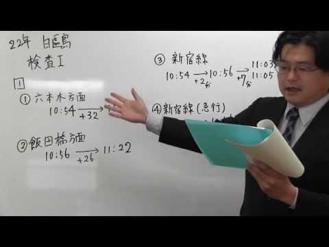 東京都立白鴎高等学校附属中学校 過去問 平成22年 適性検