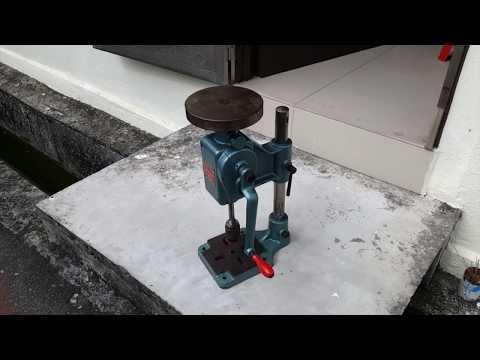 Hand Geared Drilling Machine