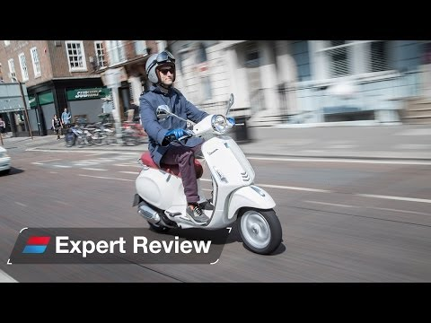 2014 Vespa Primavera 125 bike review