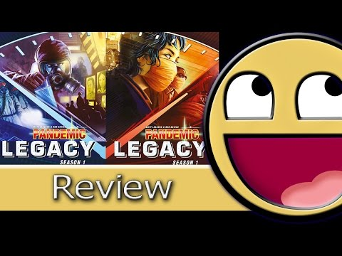 Failroad Express Reviews Pandemic Legacy S1