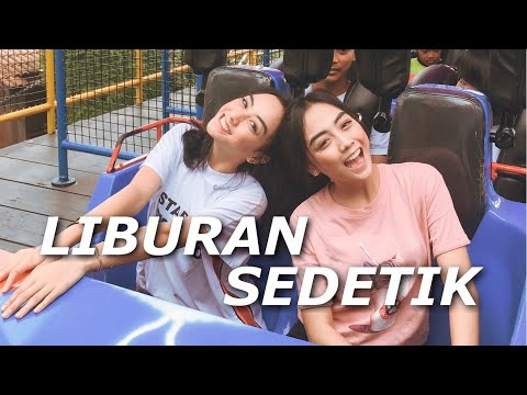 LIBURAN SEDETIK - Our First Vlog #AZELAZRIVLOG