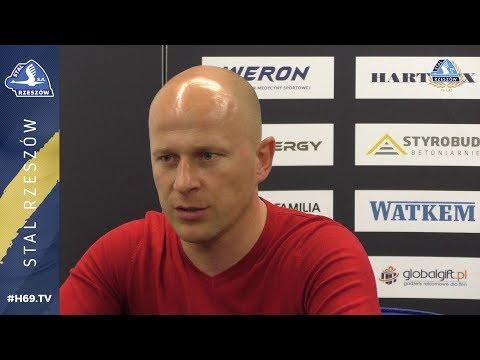 Wypowiedzi: Stal Rzeszów - Hutnik Kraków 2-0 [WIDEO]