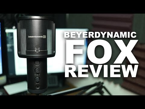 Beyerdynamic Fox Professional USB Mic Review / Test