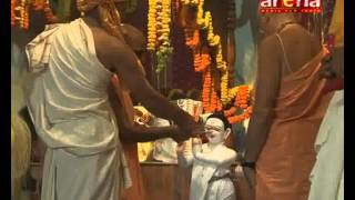 preview picture of video 'Deity Instalation Ceremony day 2_part1 ISKCON-Dharan arena television'