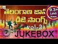 Latest 2016 Dj Songs || Telangana Folk Dj Songs Jukebox || Dj Songs Telugu || Janapada Dj Songs
