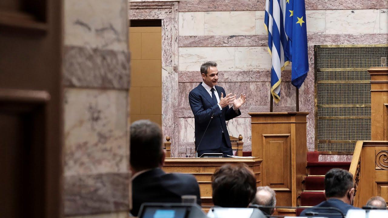 Τριτολογία στη Βουλή για την κυβερνητική πολιτική σχετικά με την αντιμετώπιση της πανδημίας