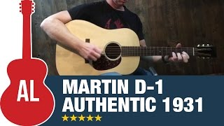 Martin D 1 Authentic 1931
