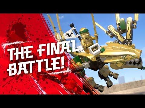 Vidéo LEGO Ninjago 70666 : Le dragon d'or