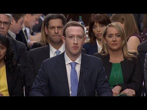 Zuckerberg open to the 'right regulation' of Facebook