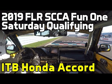 2019 Fun One: ITB Honda Accord, Saturday Qualifying