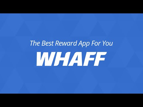 WHAFF Rewards video