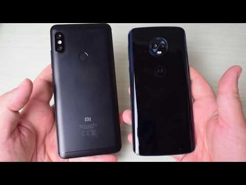 Confronto Xiaomi Redmi Note 5 Pro vs Motorola Moto G6 Plus