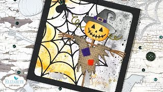 Scarecrow Halloween Card | Technique Friday With Els