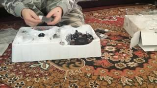 Распаковка и сборка квадрокоптера Walkera QR x350 pro