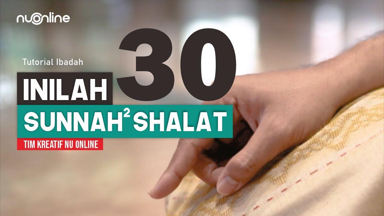 Sunnah-sunnah dalam Shalat
