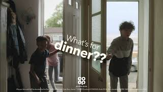 Co-op Join us in helping those going hungry Advert
