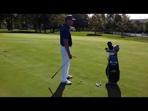 How to Hit a High Pitch Shot or a Low Pitch Shot