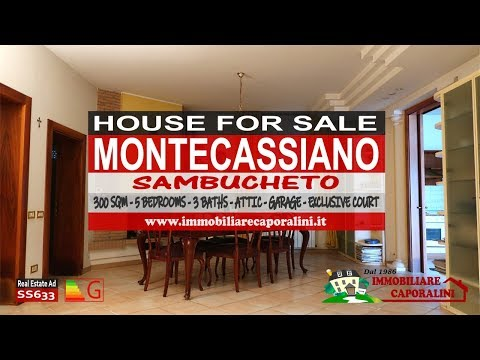 Immobiliare Caporalini real-estate agency - House - Ad SS633 - Video