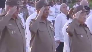 A Monument for Fidel Castro in Cuba 5 December 2016 - Anthem of Cuba