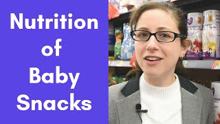 Should I give my baby 'snacks' like puffs & yogurt snacks? Label analysis, added sugars