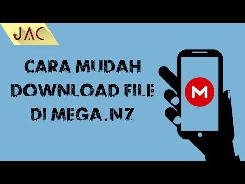 Video Cara Mudah Download File di Mega.nz via Android [JAC Art Code]