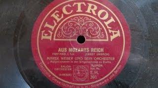 preview picture of video 'AUS MOZARTS REICH FANTASIE  Ernst Urbach 1. Teil Marek Weber und Orchester'