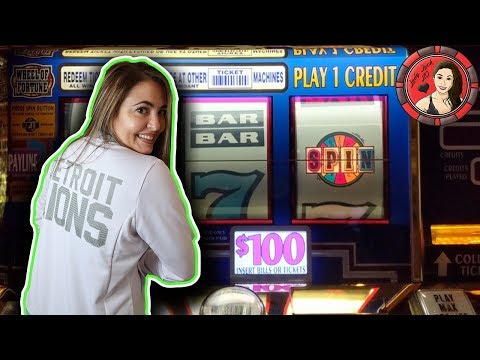 $100 BET Wheel of Fortune Handpay Jackpot in Las Vegas!