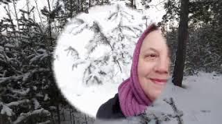 Зимняя сказка-2! Сказочный лес в деревне зимой!