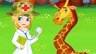 Fun Jungle Animal Care - Let's Take Car Of Cute Jungle Animals - Fun Pet Care Kids Games