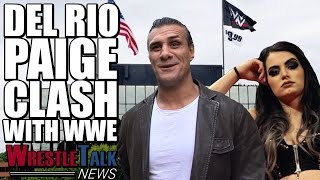 Paige Clashing With WWE! Alberto Del Rio Reveals Extent Of Her Injury... | WrestleTalk News