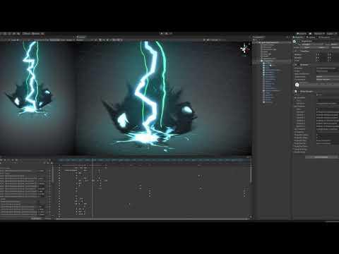 Realtime VFX Breakdown - Lightning Storm