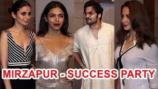 MIRZAPUR Success Party I FULL HD I Ali Fazal, Farhan Akhtar, Rasika Dugal, Elli Avram