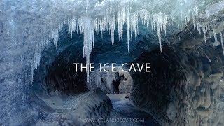 The Ice Cave - Drone Video From An Icelandic Ice Cave