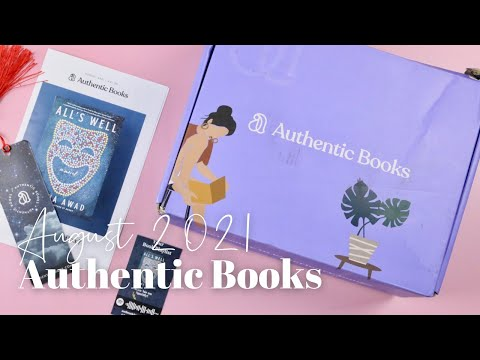 Authentic Books Unboxing August 2021