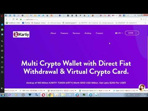 МОНЕТА KRTY 40 PC  40 USD  от Multi Crypto Кошелек.AIRDROP
