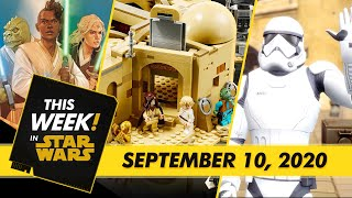 Build the LEGO Mos Eisley Cantina, Look Inside Marvel's Star Wars: The High Republic Comic,and More!
