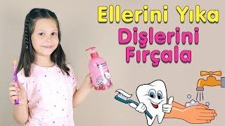 Ceylin-H | Ellerini Yıka Dişlerini Fırçala Çocuk Şarkısı - Nursery Rhymes & Super Simple Kids Songs