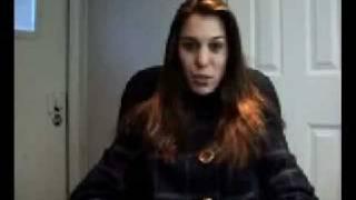 Christy Carlson Romano's Video Diary 1