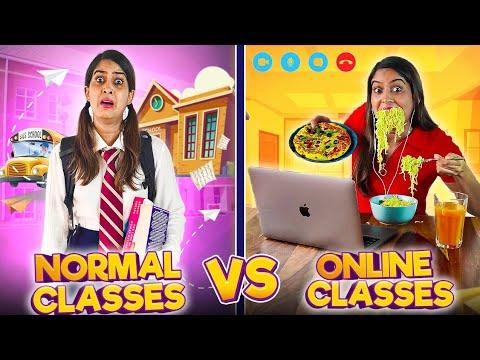 Normal Classes VS. Online Classes | Anisha Dixit